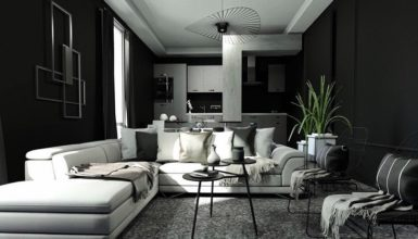 How To Give Bold Black Look To Home