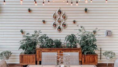 Attractive Decor Ideas For Outdoor Walls
