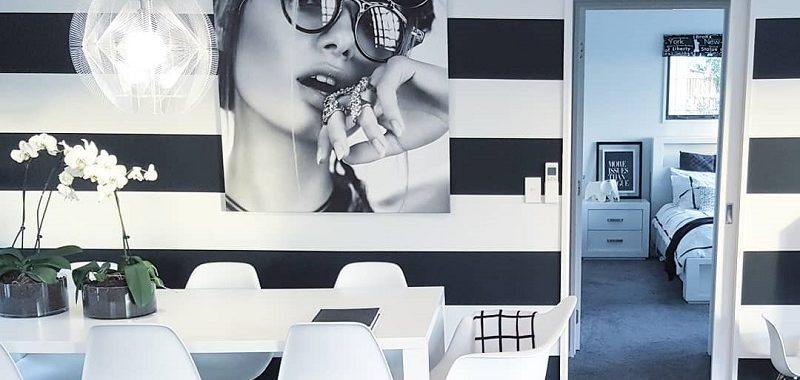 How To Pull Striped Design For Decorating Interior